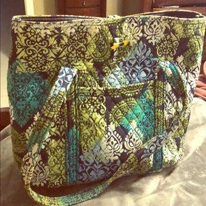 Gently Used Vera Bradley Work Tote Bag 💼
